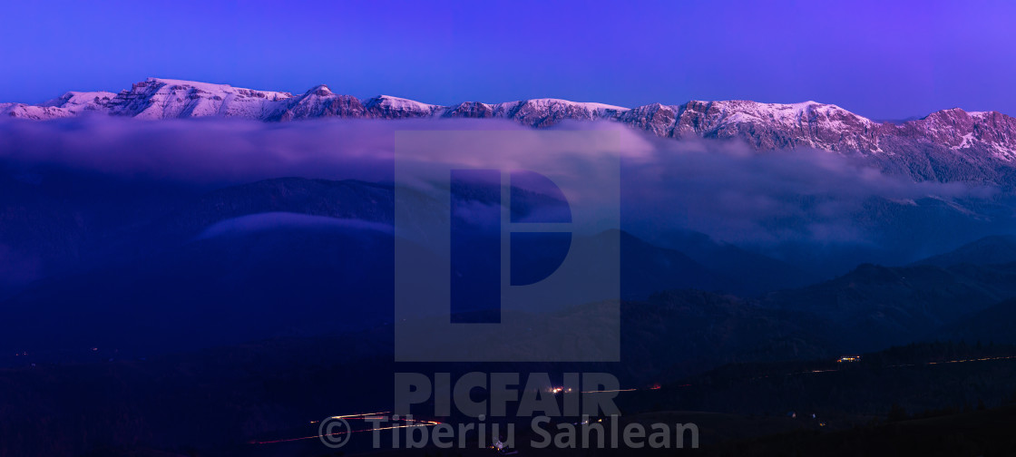 """Bucegi Mountains"" stock image"