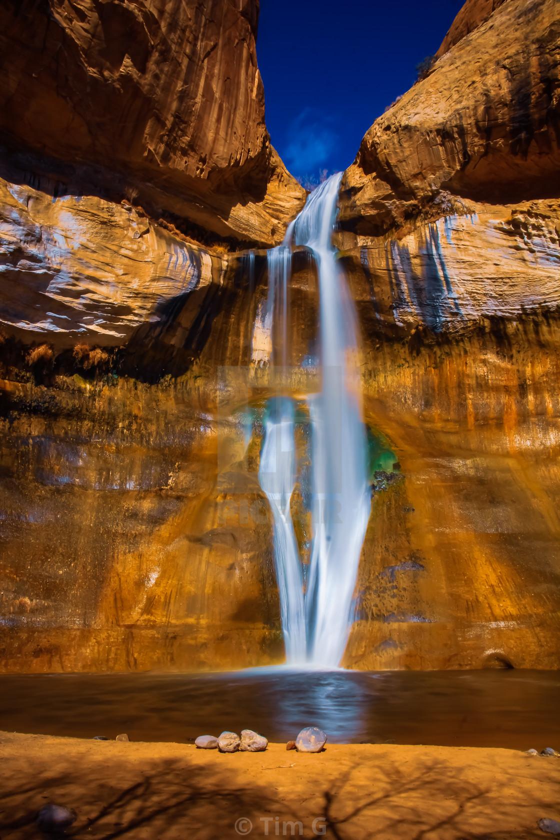 Calf Creek Lower Falls in Grand Staircase-Escalante