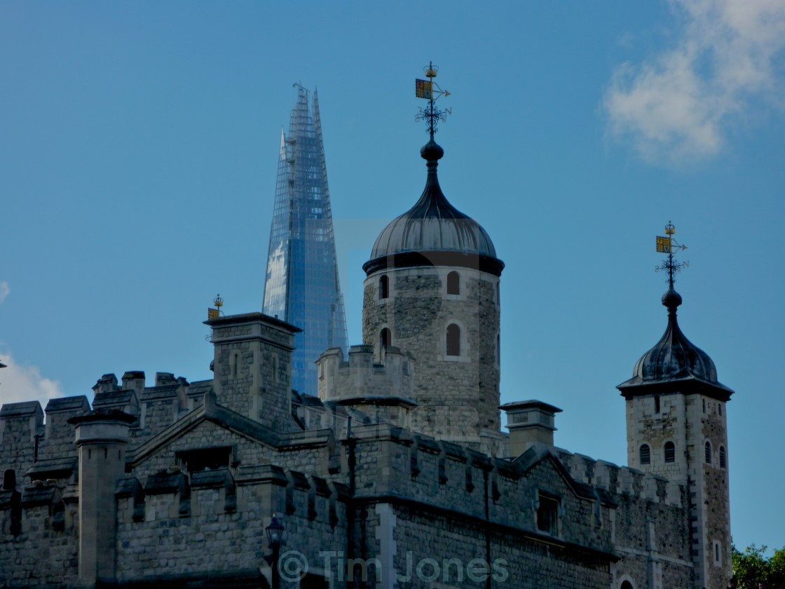 """""""Towers of London"""" stock image"""