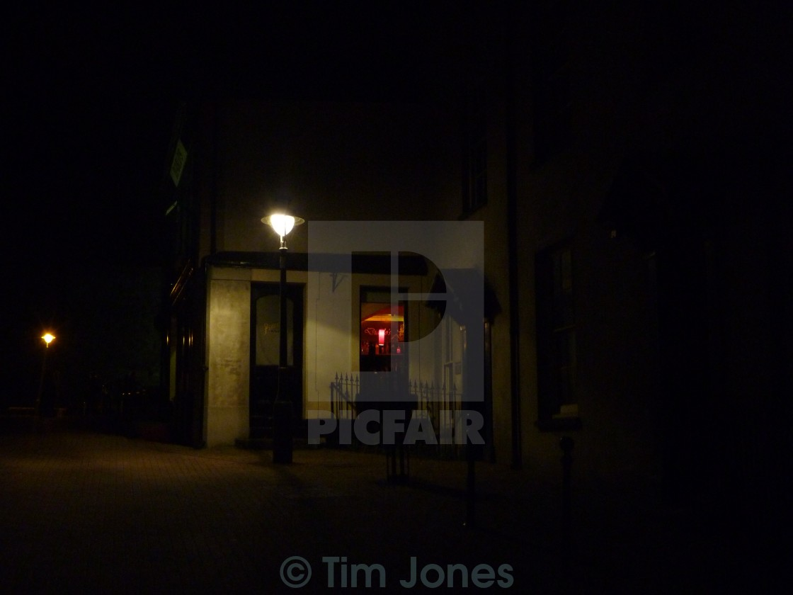 """Midnight Alley"" stock image"