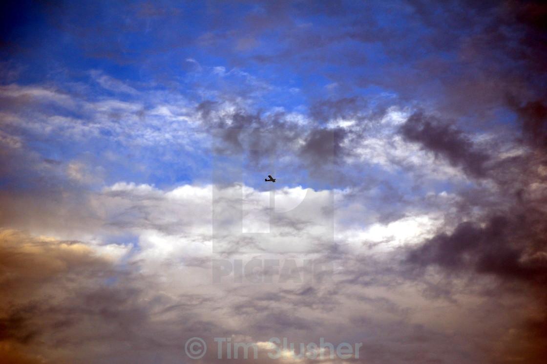 """Da Plane"" stock image"