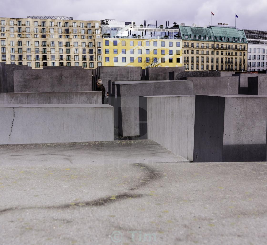 """""""Denkmal für die Ermordeten Juden Europas"""" stock image"""