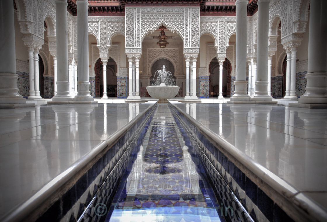 """Moroccan Pavillion"" stock image"