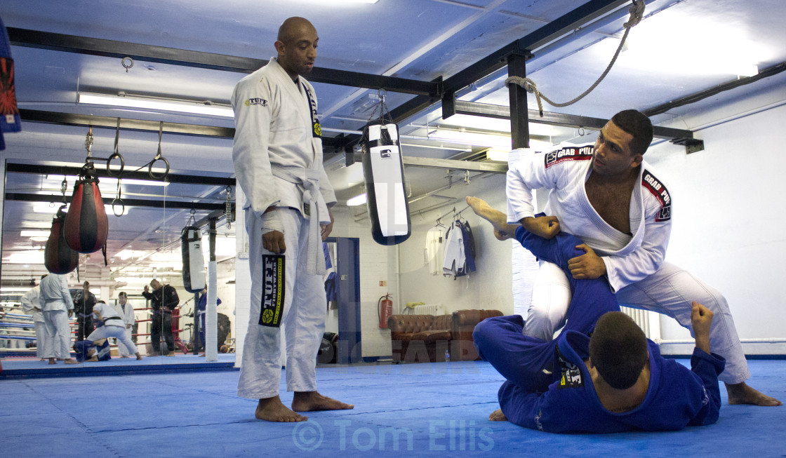 """BJJ - Coaching"" stock image"