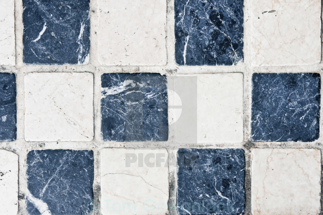 """Chequered tiles"" stock image"