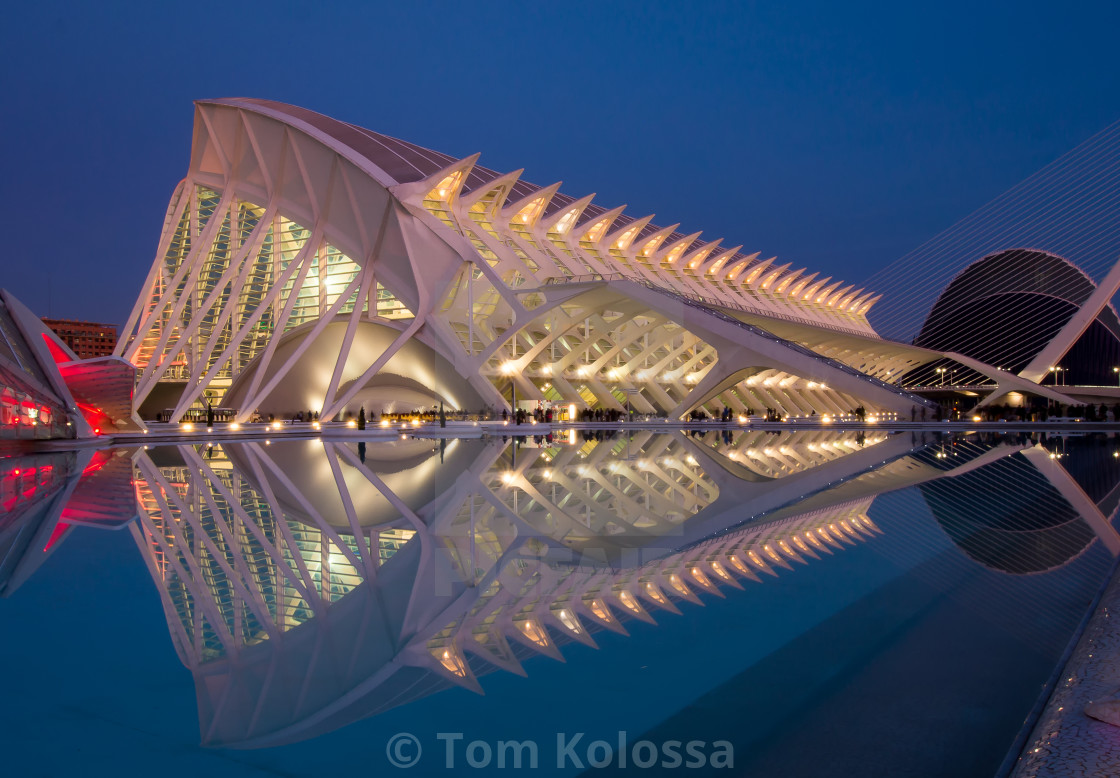 """Valencia, Spain, City of Art and Sciences"" stock image"