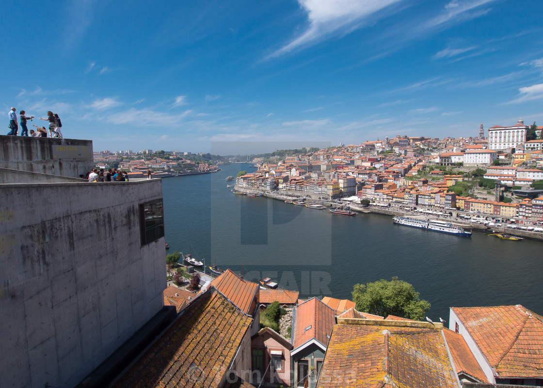 """""""Porto cityscape"""" stock image"""