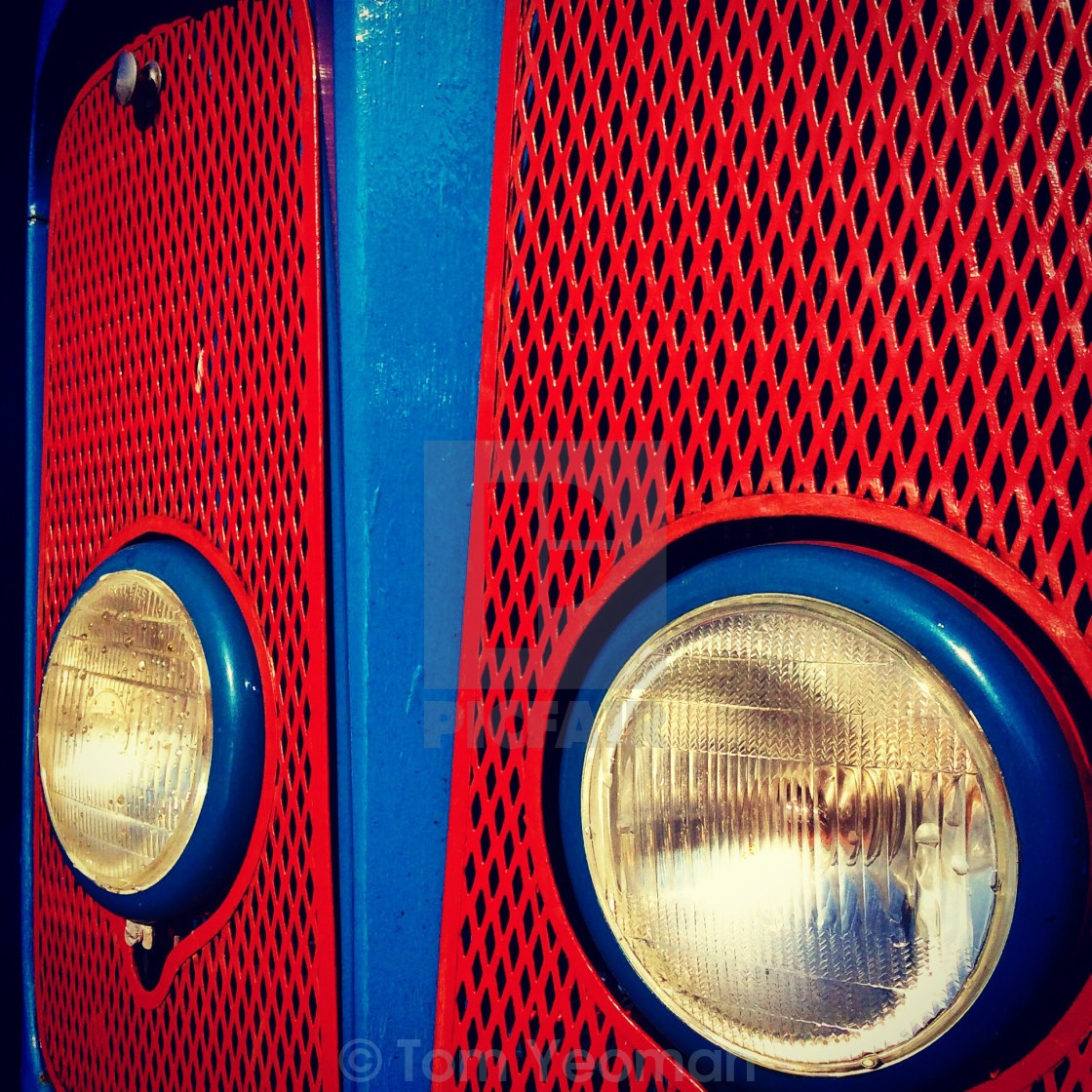 Tractor grill and headlights - License, download or print for £5 58