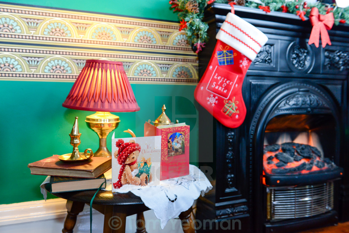 Christmas Fireplace - License, download or print for £6 20