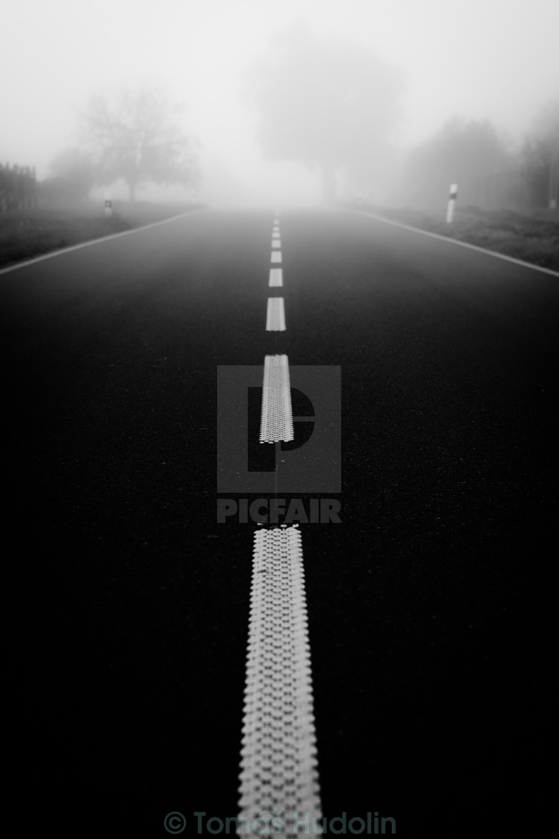 """Road to nowhere"" stock image"