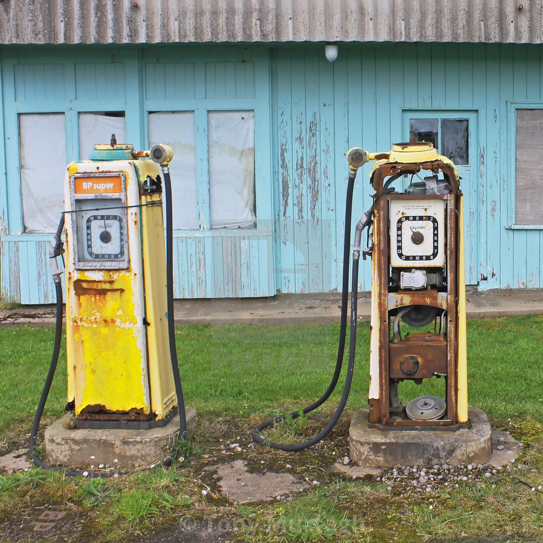 """Petrol Pumps"" stock image"