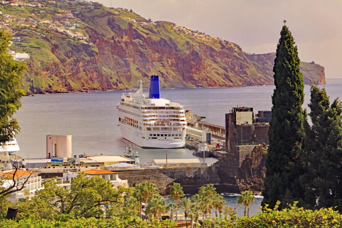 """MV Oriana in Funchal"" stock image"