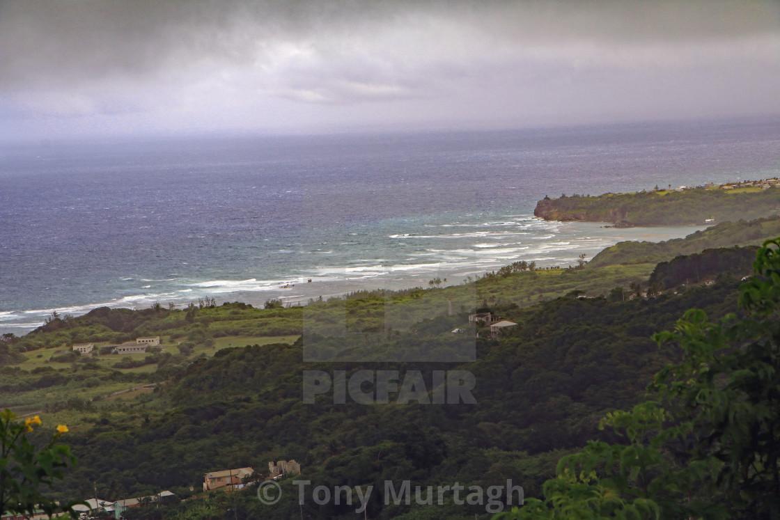 """Barbados View"" stock image"