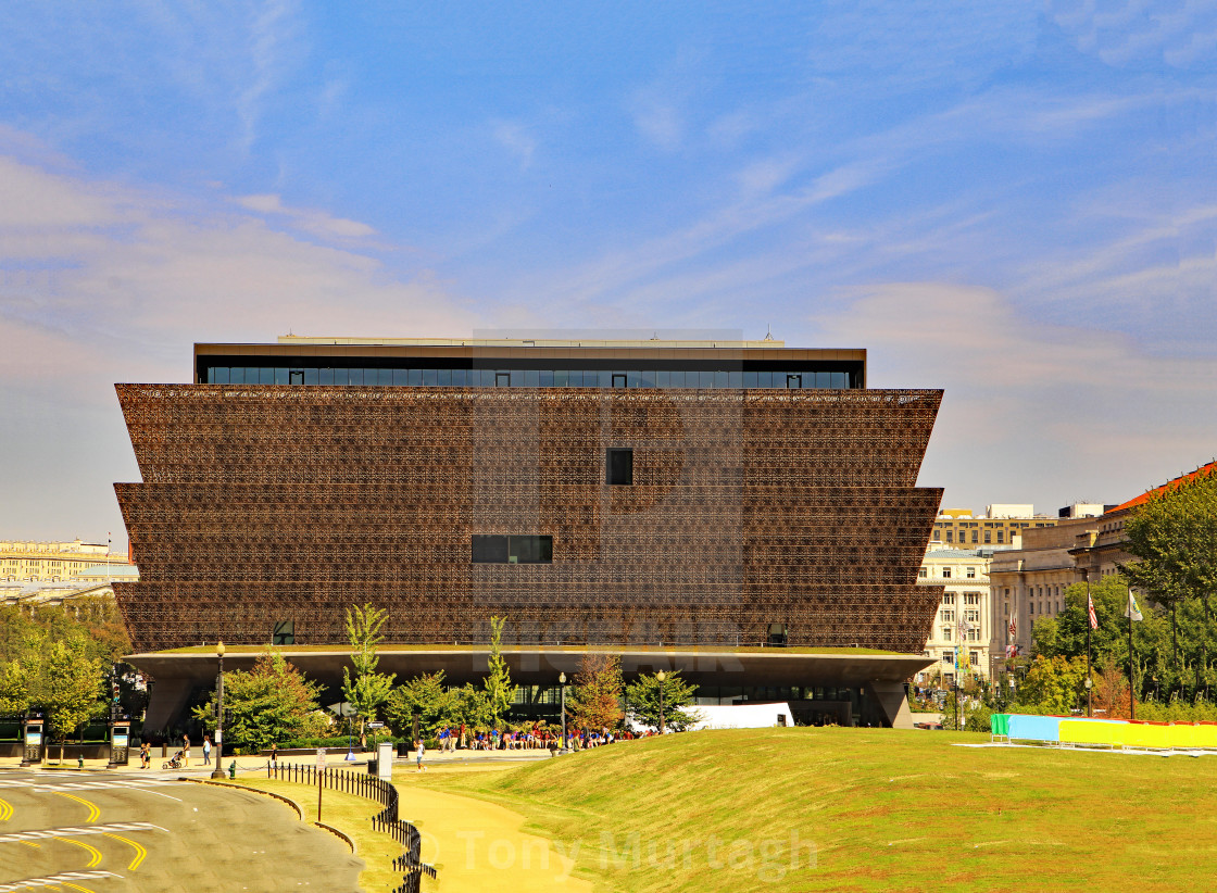 """National Museum of African American History and Culture"" stock image"