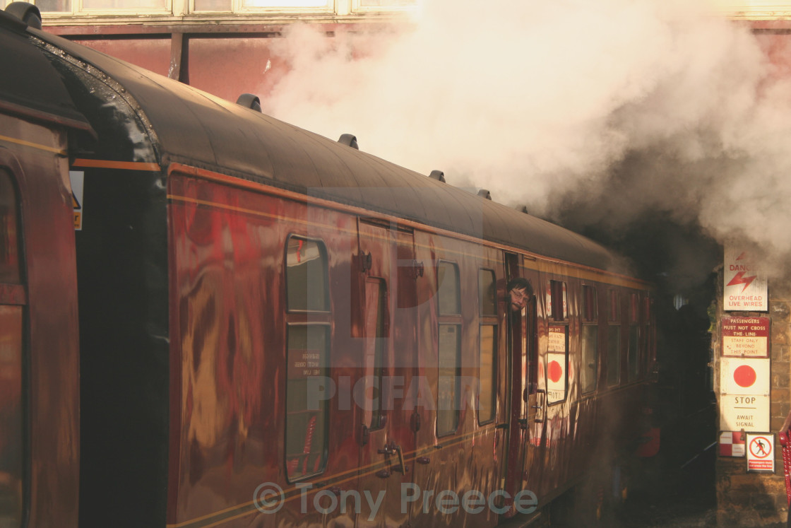 """Head of Steam"" stock image"
