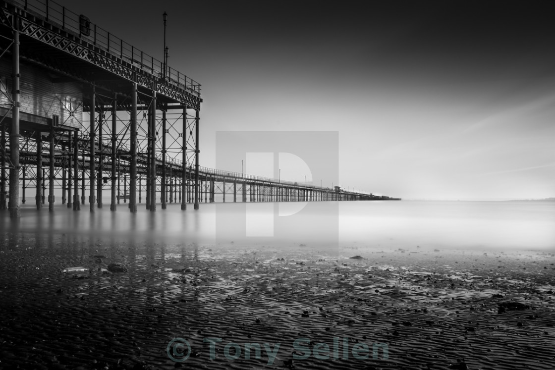 """Cant See The Southend"" stock image"