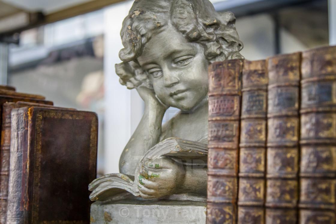 """Angelic old books"" stock image"