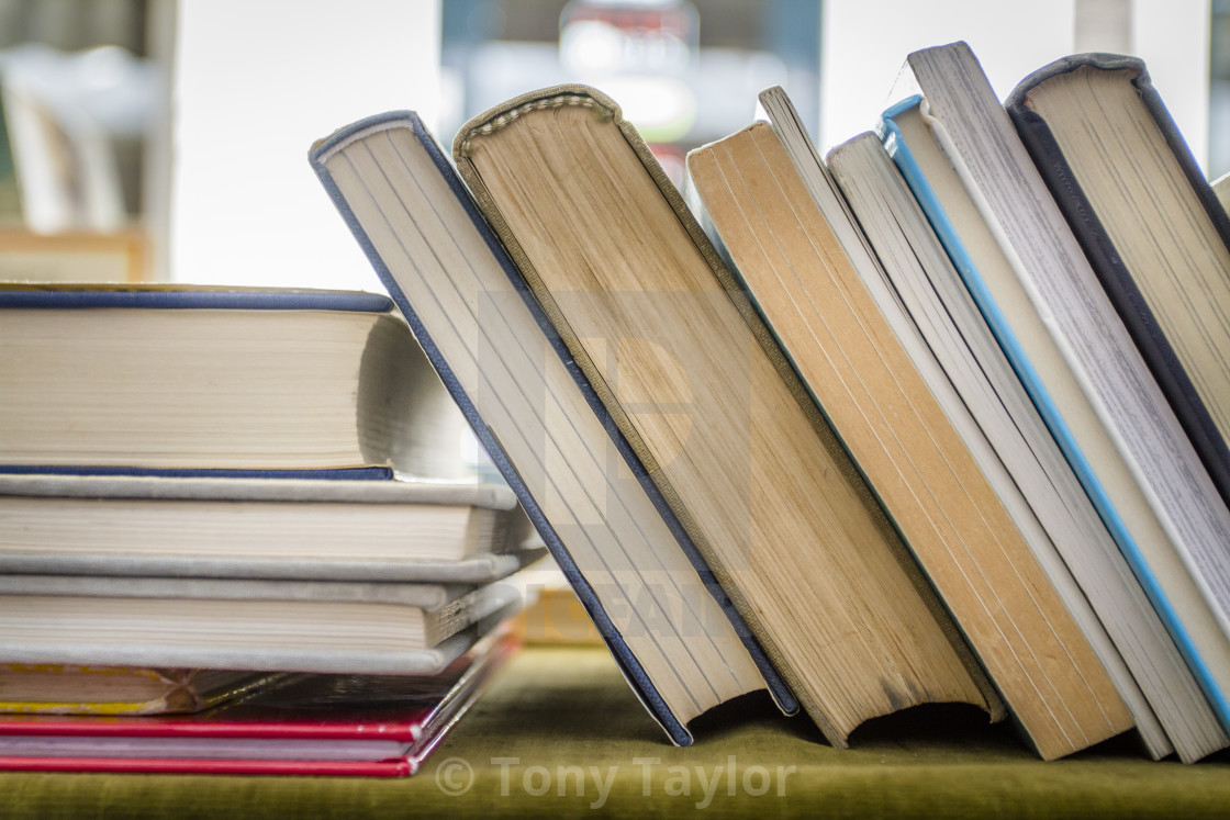 """""""Second hand books"""" stock image"""