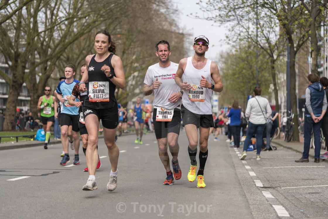 """A tough race"" stock image"