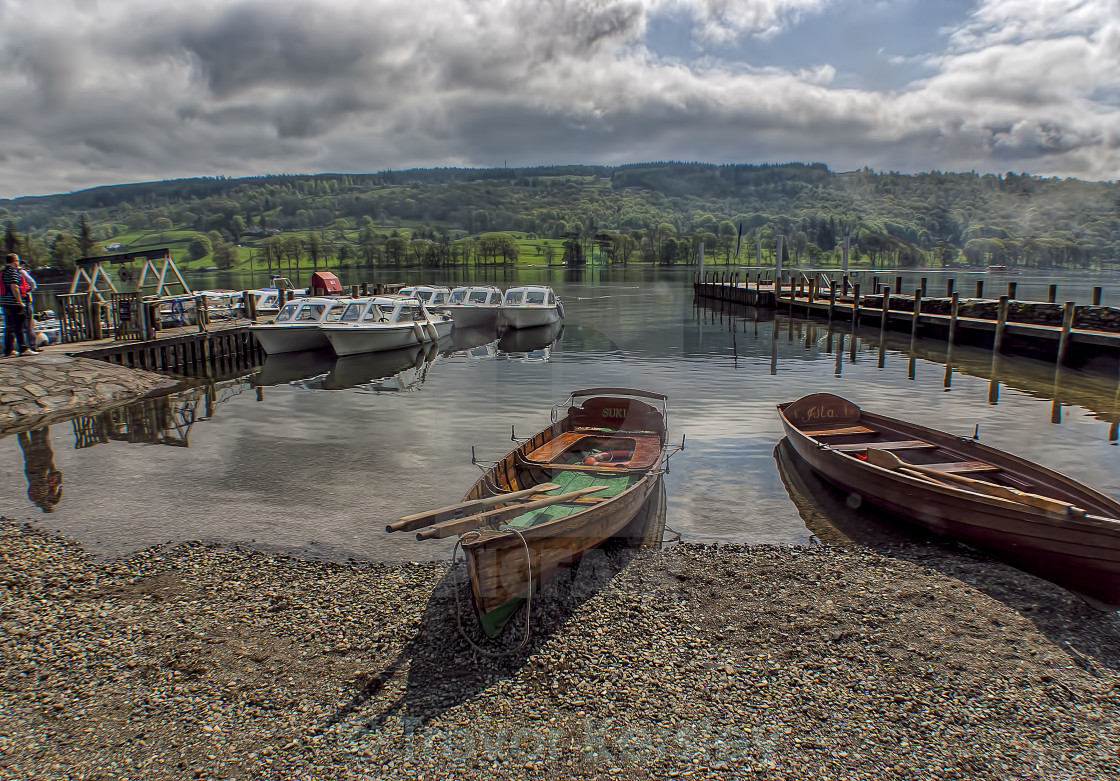 """Coniston Water Lake District"" stock image"