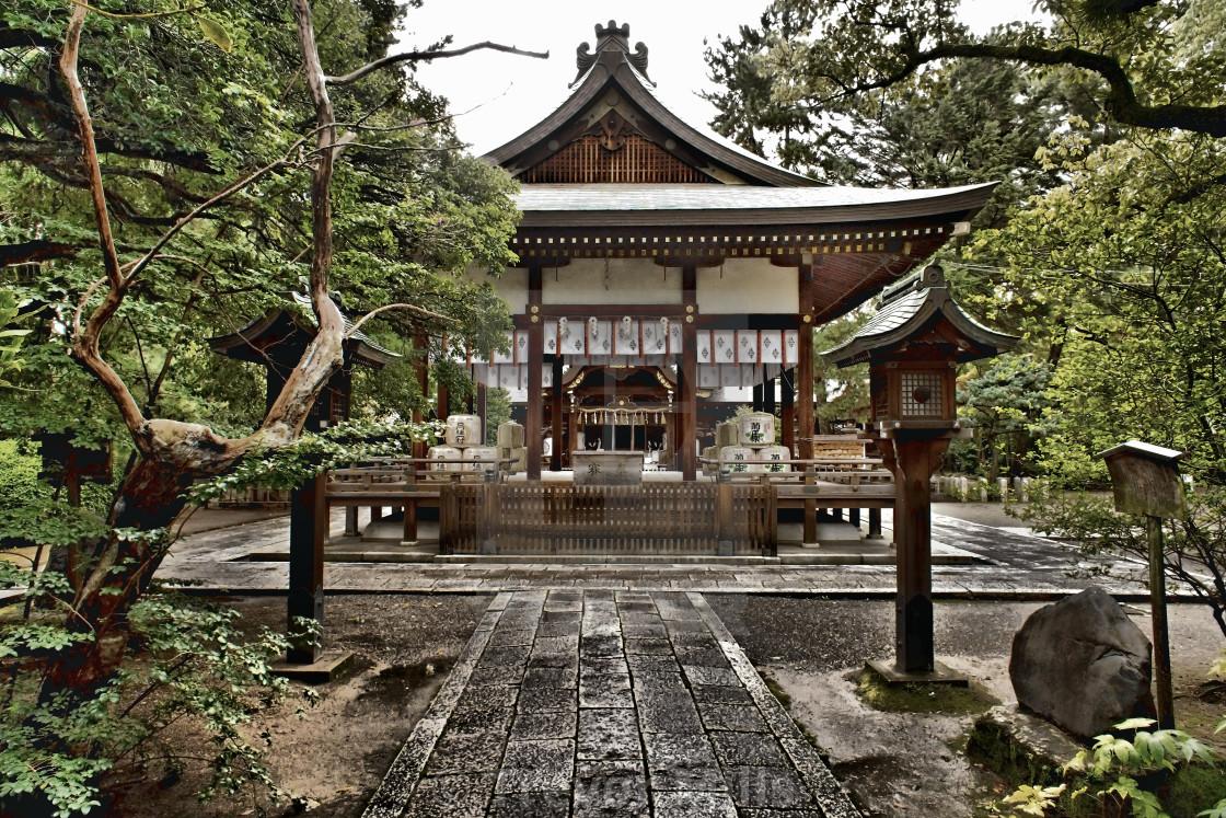 """""""Hirano Shrine Kyoto"""" stock image"""