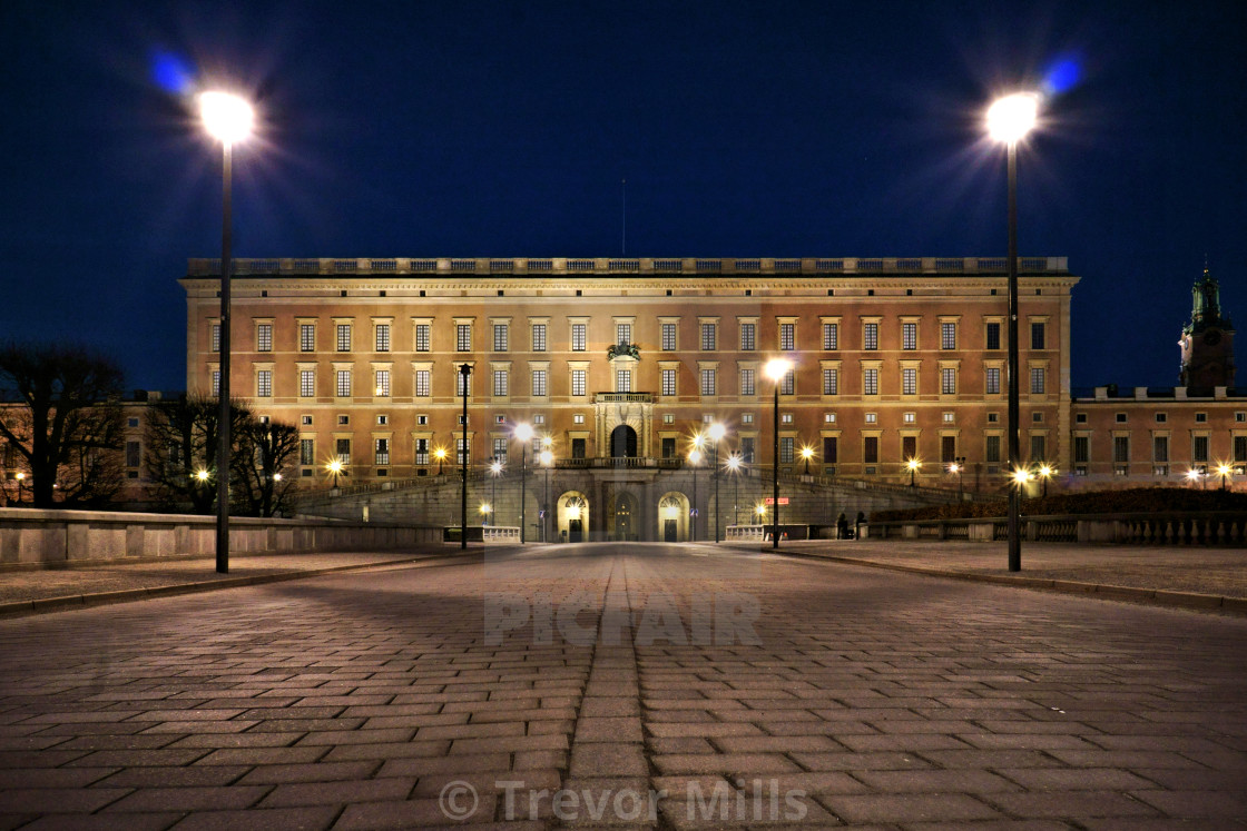 """The Royal Palace"" stock image"