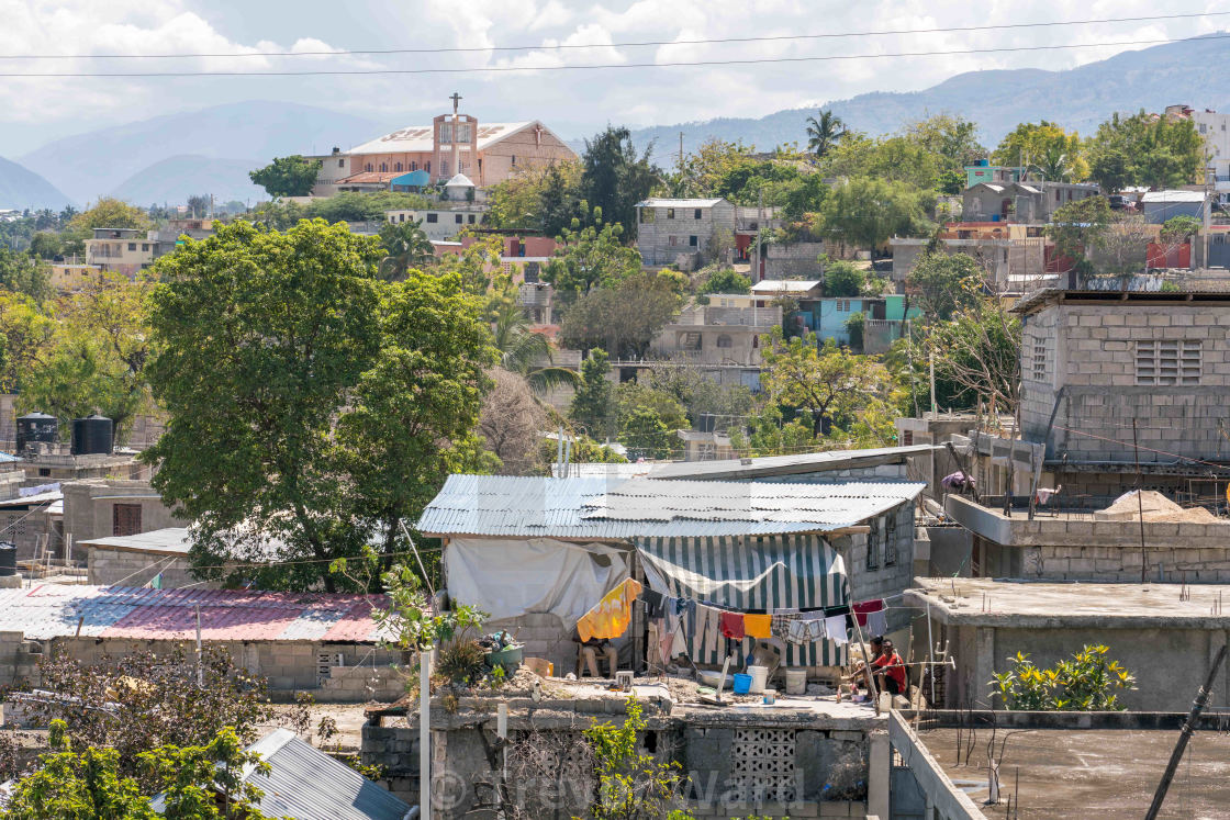 """Port au Prince building construction"" stock image"
