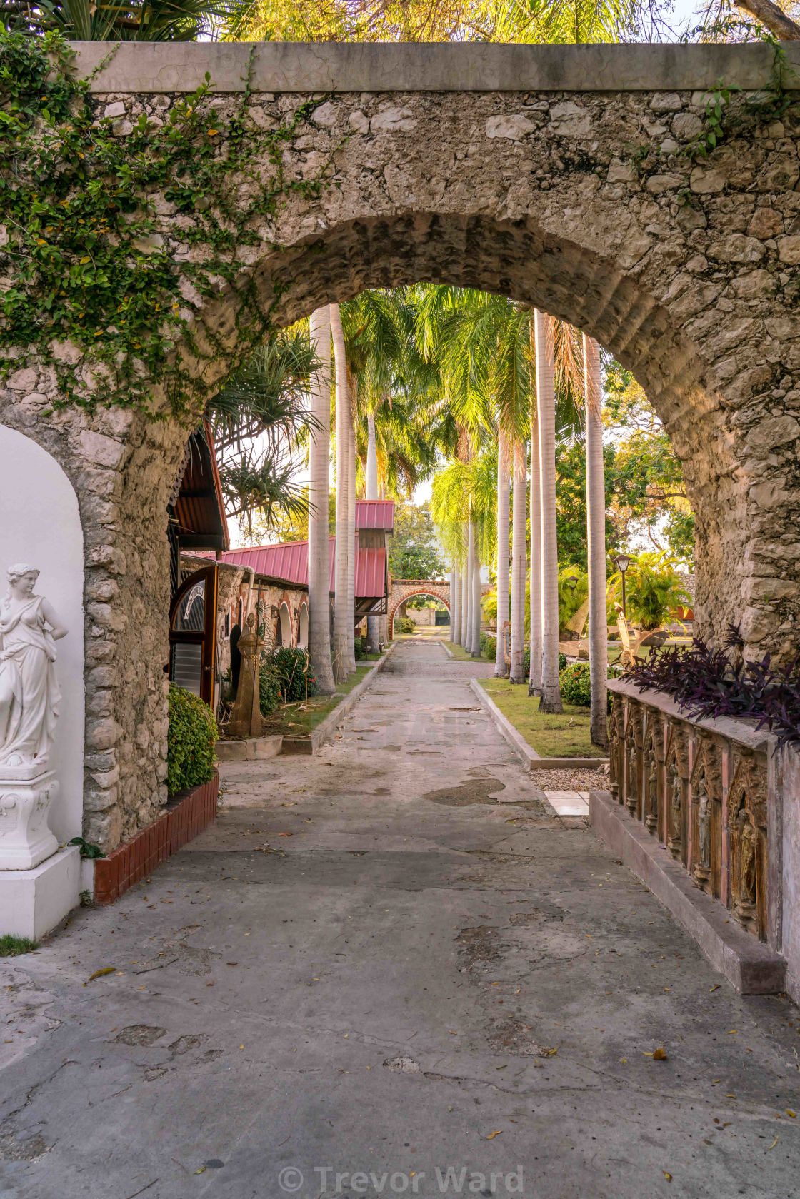 """Museum Ogier-Fombrun in Haiti"" stock image"