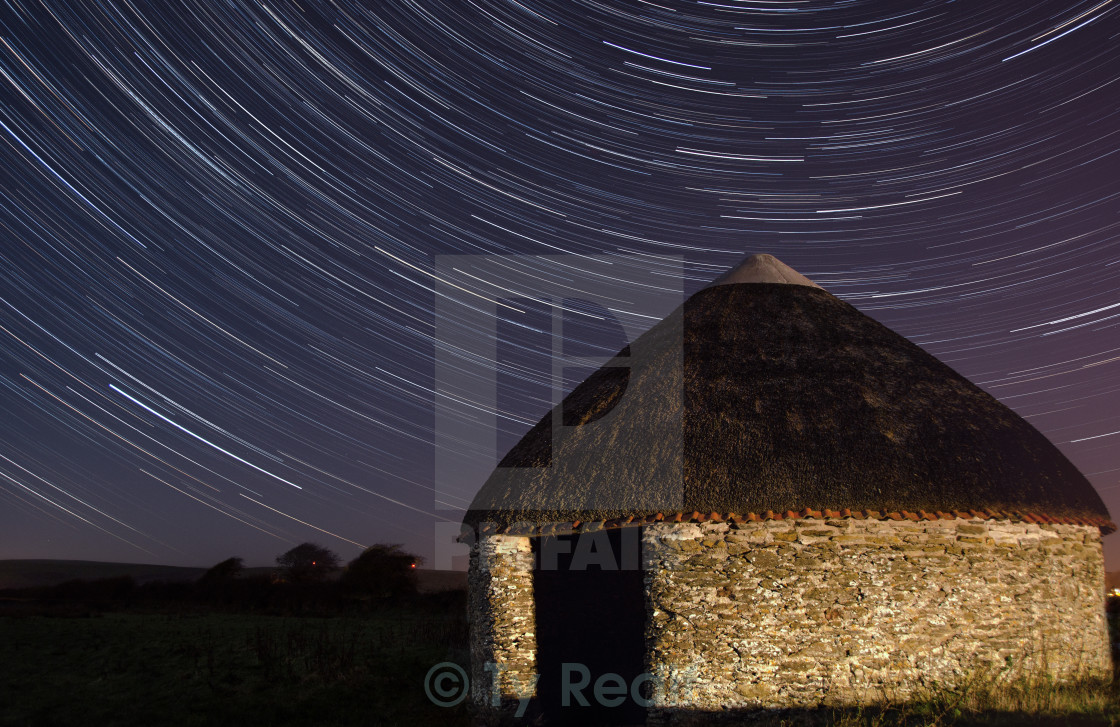 """Starry Hut"" stock image"