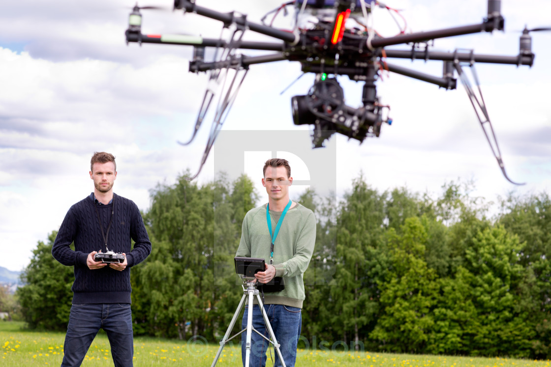 """UAV Photography Drone"" stock image"