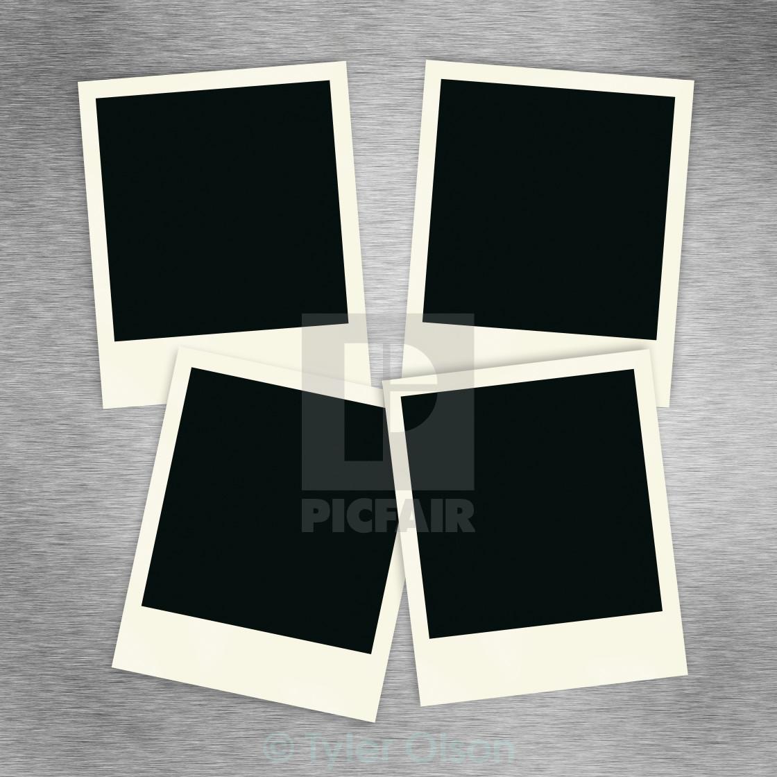 """""""Polaroid Collage"""" stock image"""