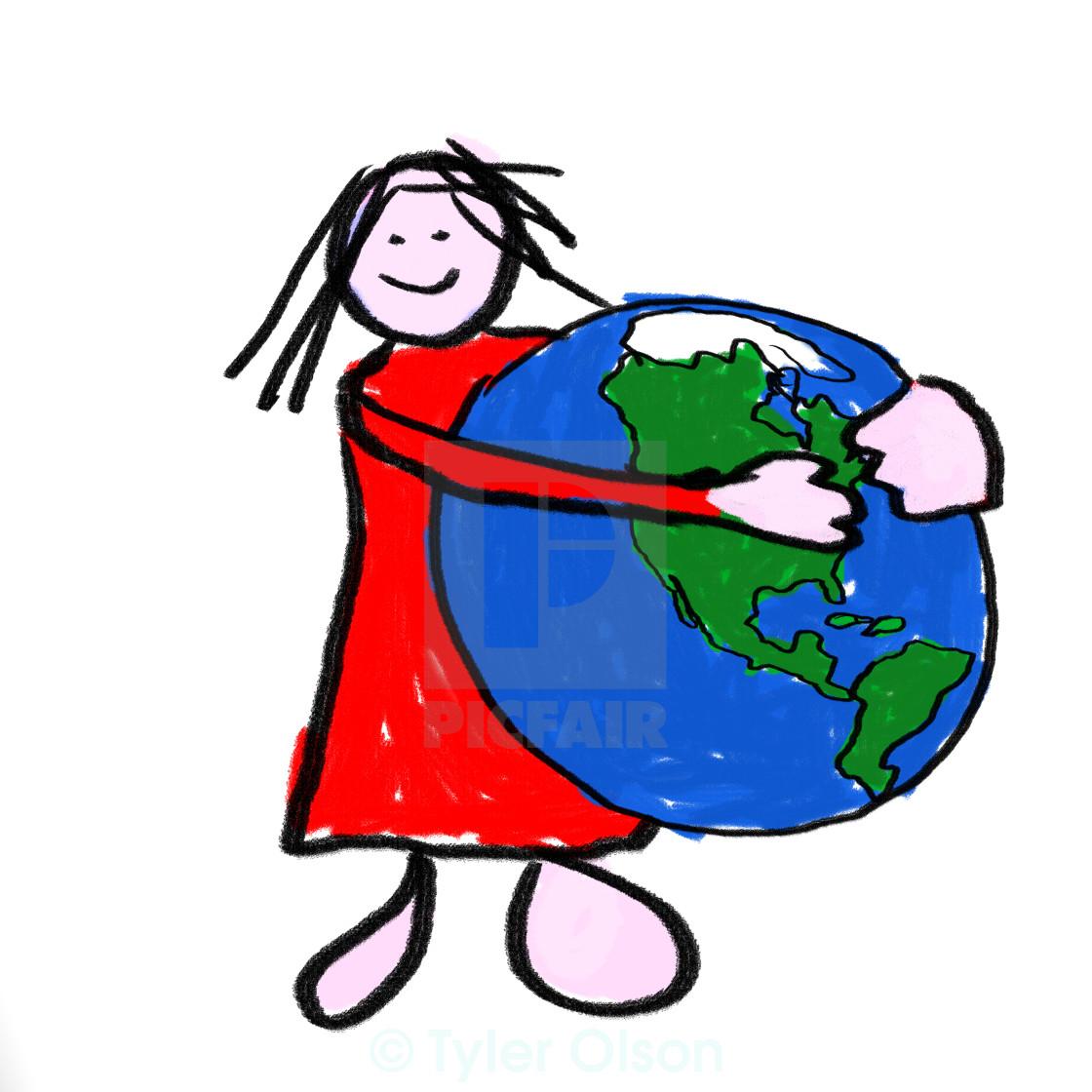 """""""Safe World"""" stock image"""