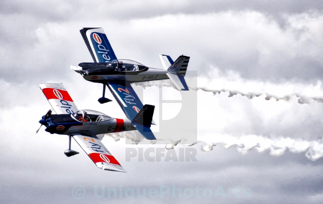 """Close formation flying"" stock image"