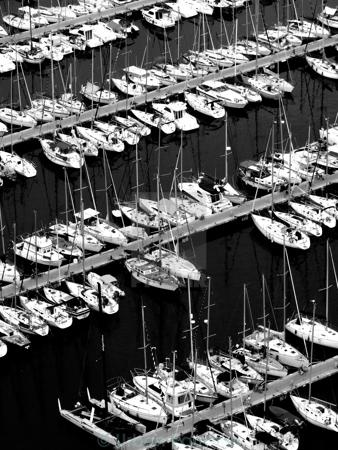 """Boats in Barcelona"" stock image"