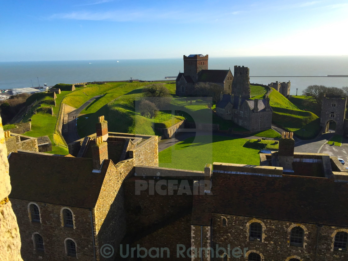 """Dover Castle"" stock image"