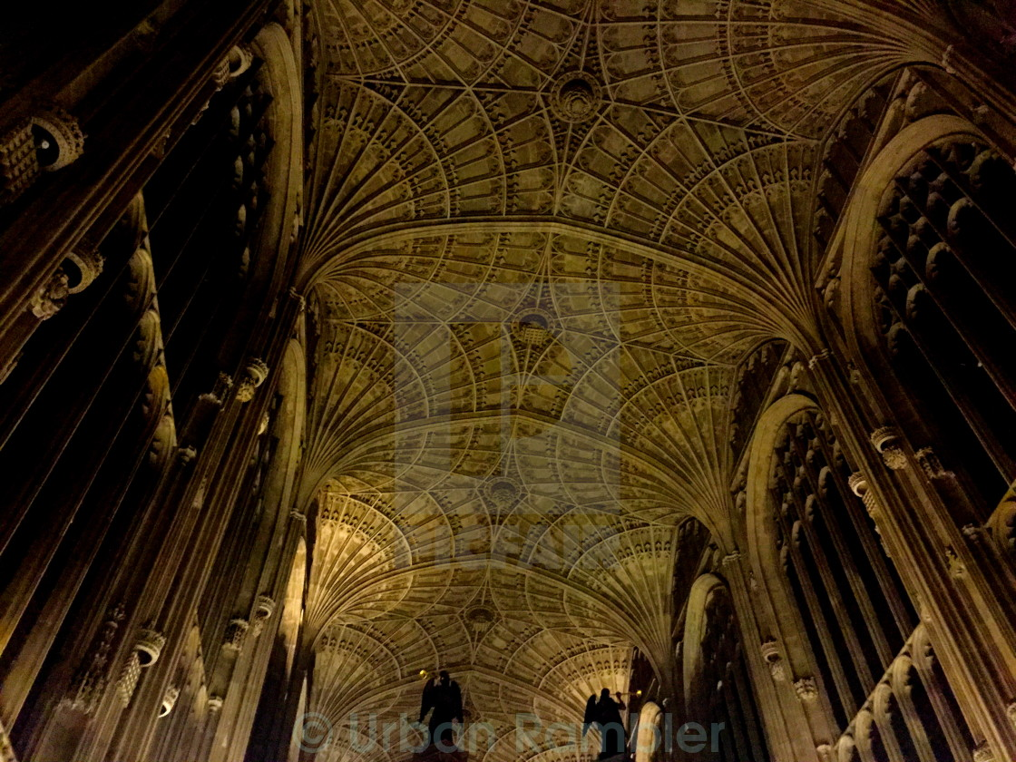 """Cambridge Kings College Chapel"" stock image"