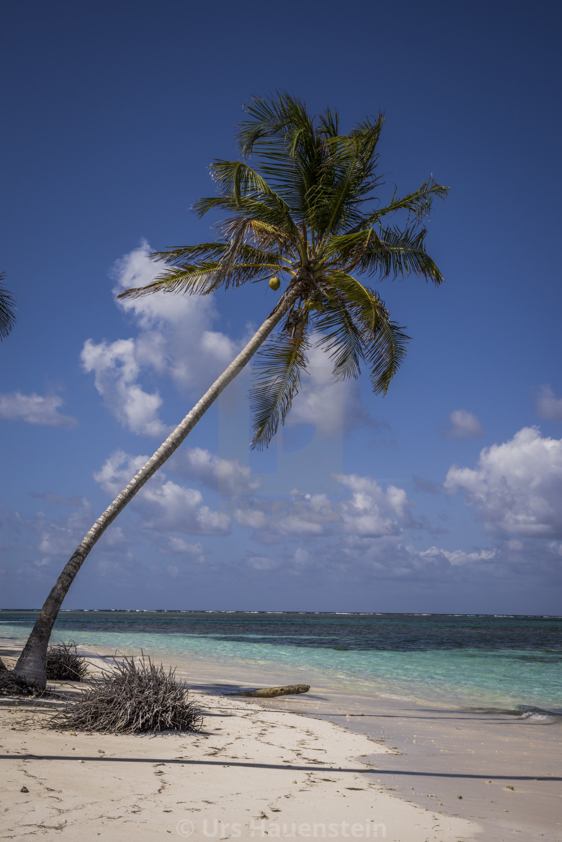 """San Blas tropical Islands in the Caribbean Sea of Panama"" stock image"