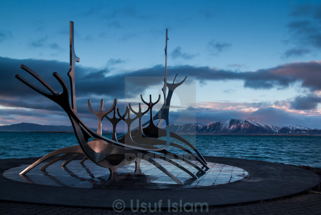 """The Sun Voyager"" stock image"