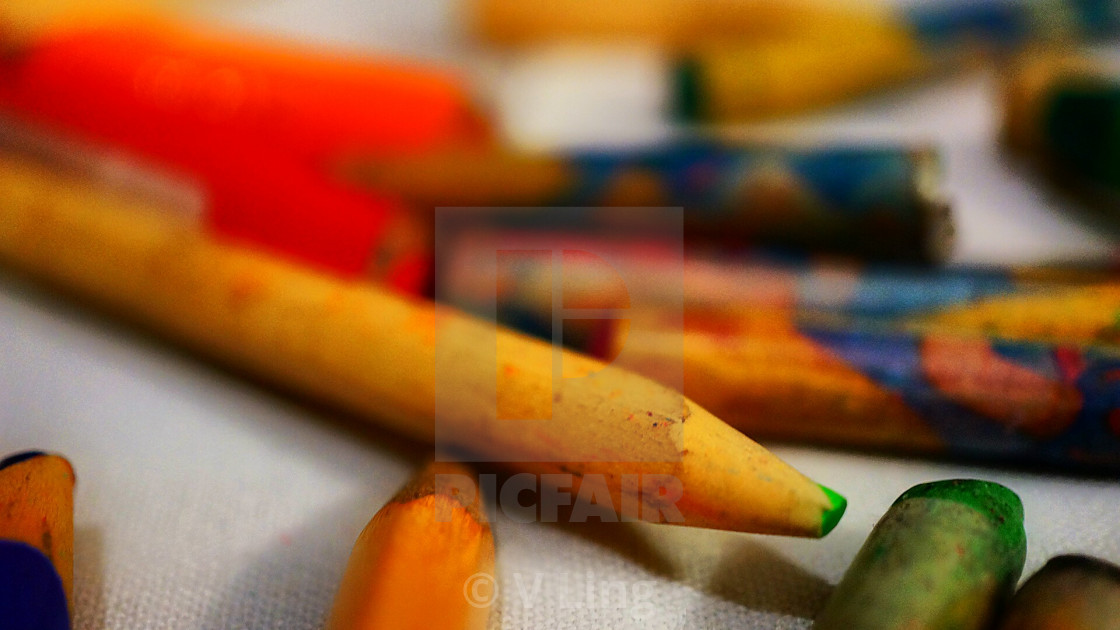 """Crayons!"" stock image"