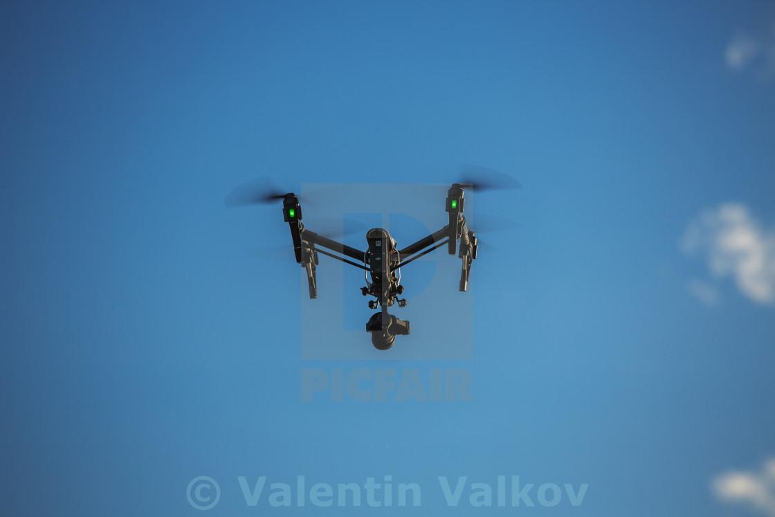 """Varna, Bulgaria - May 13 ,2016: Image of DJI Inspire 1 Pro drone"" stock image"