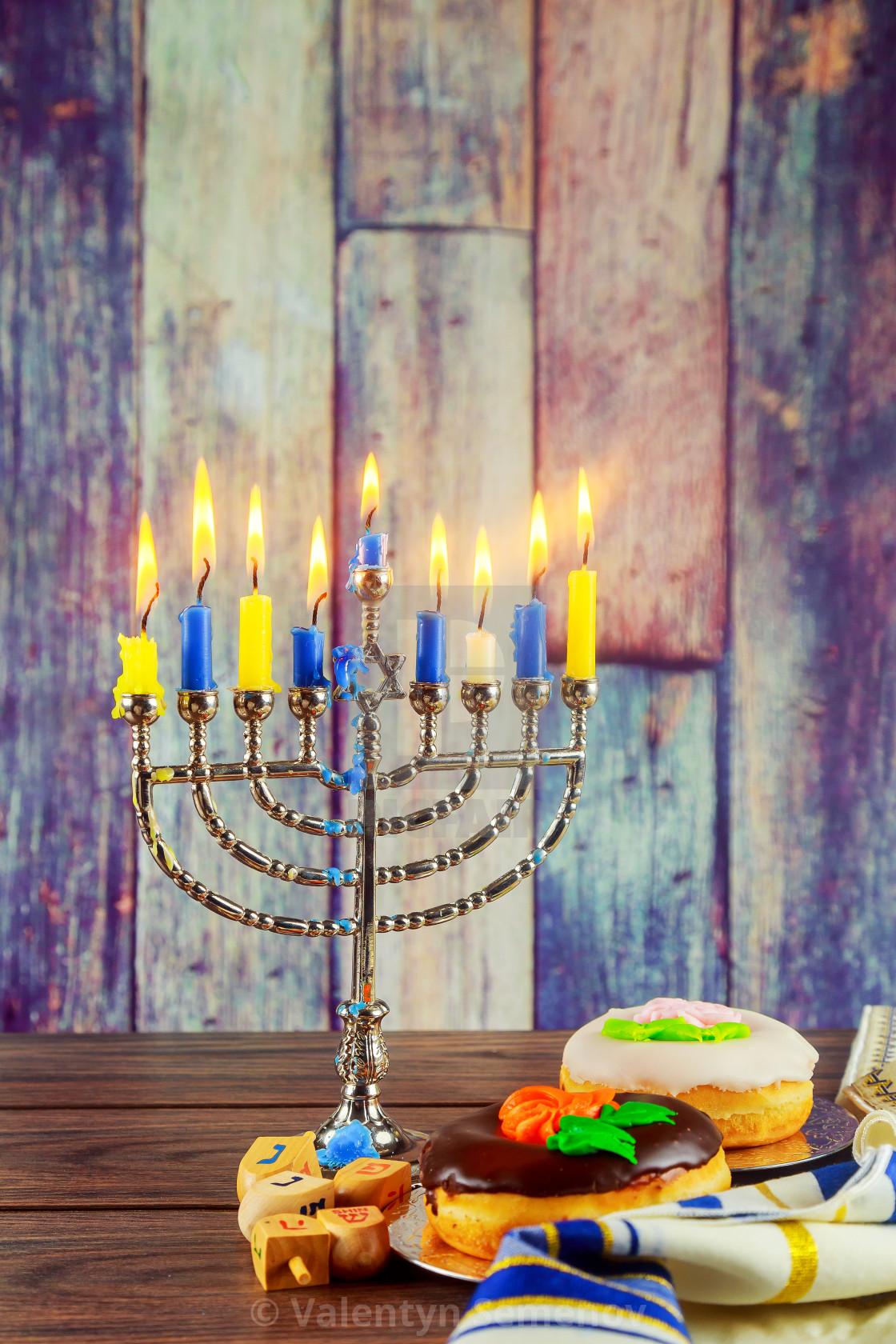 Jewish Symbols Hanukkah The Festival Of Lights License For 992