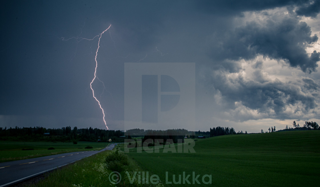 """Thunder and Lightning"" stock image"
