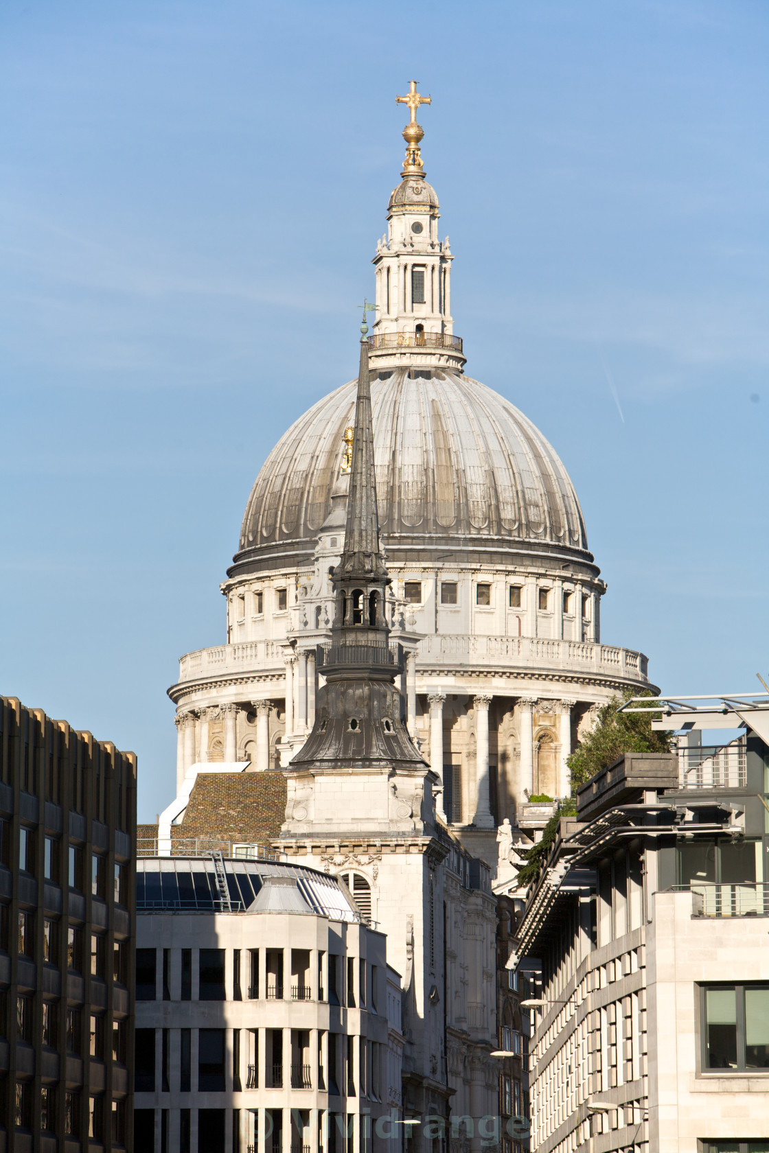 """London, St Paul's"" stock image"