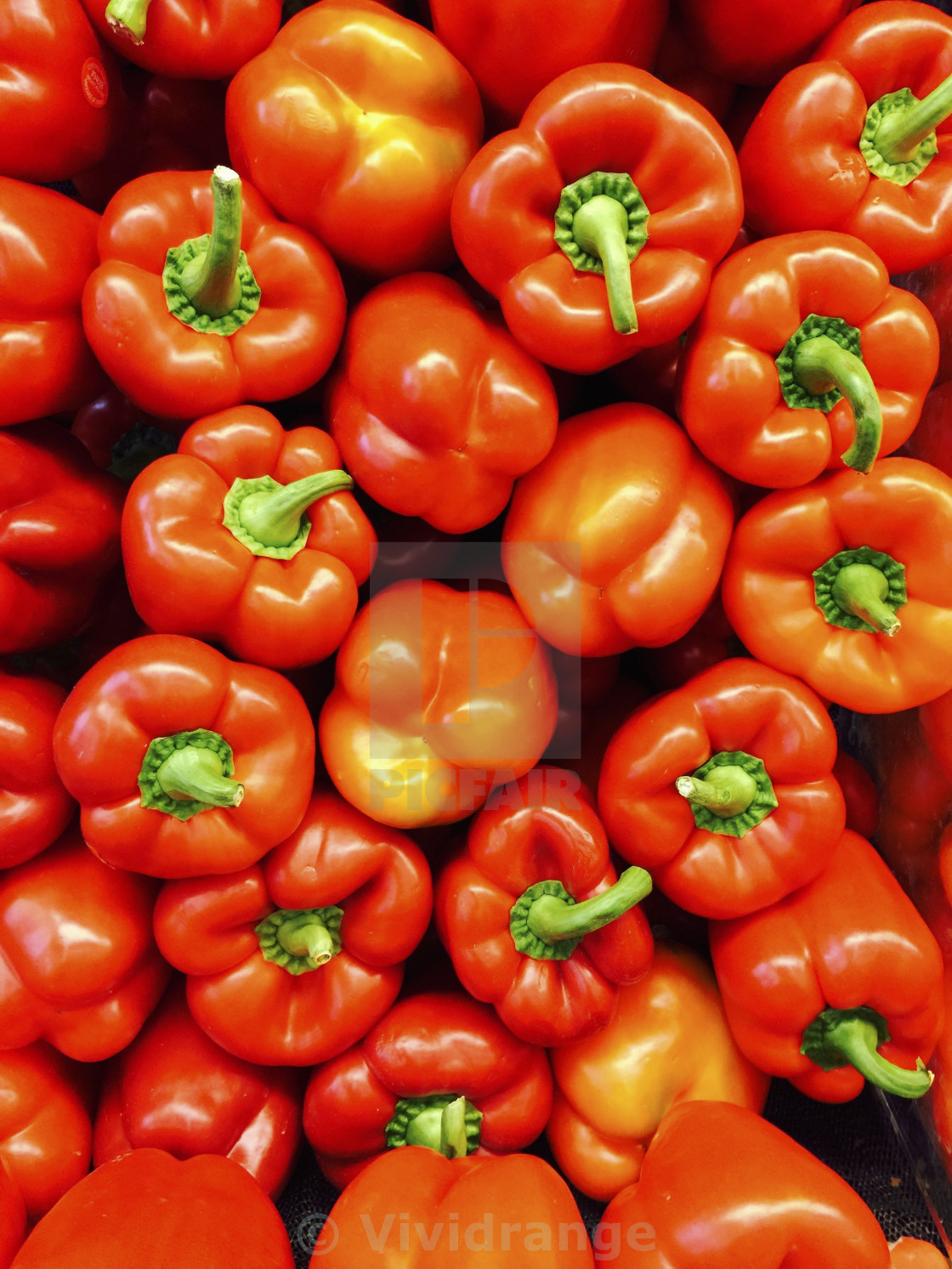 """""""Red Peppers, vegetables"""" stock image"""