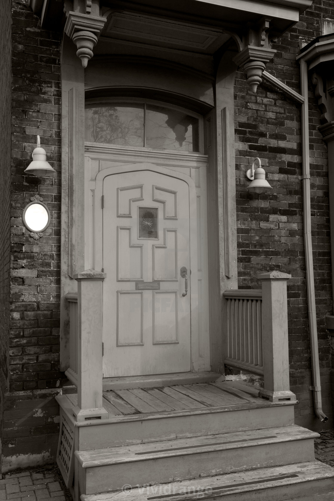 """Antique Doors in Toronto, Canada"" stock image"