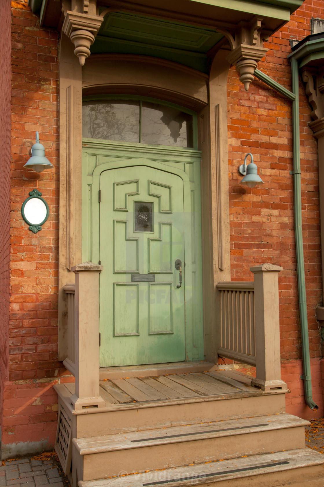 """Antique Doors in Toronto, Canada"" stock image"