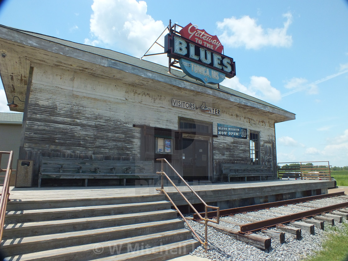 """Blues Museum"" stock image"