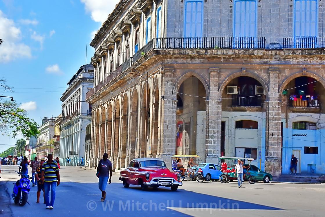 """Cuban Square"" stock image"