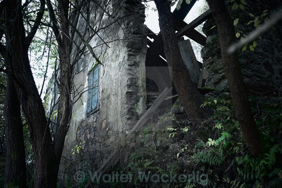 """House ruin"" stock image"