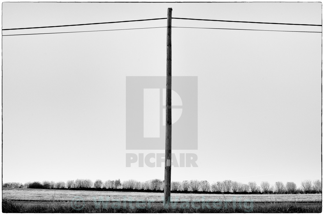 """The perfect pole"" stock image"